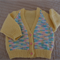 Size 6-12 months: Girls cardigan in Multi colour