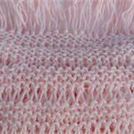 Hand knitted wool scarf. Winter scarf. baby pink scarf. woollen scarf. scarves.