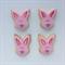 Bunny Face Cookies
