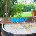 Personalised Wood Pallet Sign, custom made, family names & date, Welcome