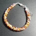 Kumihimo Beaded Bracelet