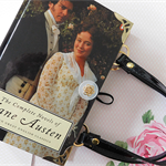 Jane Austen book bag - The Complete Novels - Bag made from a book