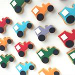 Tractor Cookies