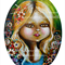 A5 Print - Flower Girl