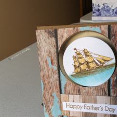 Father's Day Cards. Ship thru a porthole.