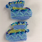 Embellished 3-6 month baby booties.