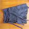 Wrap midi skirt with ties