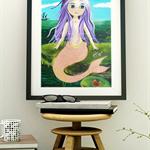 A5 Print - Sirena
