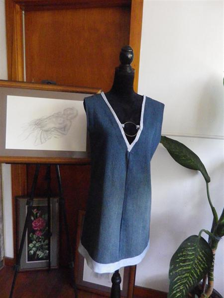 V neck tunic