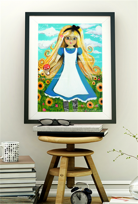 A5 Print - Alice in Wonderland