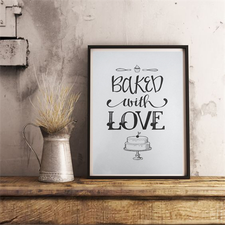 'BAKED WITH LOVE'