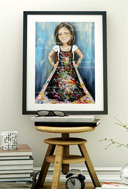 A5 Print - The Artist