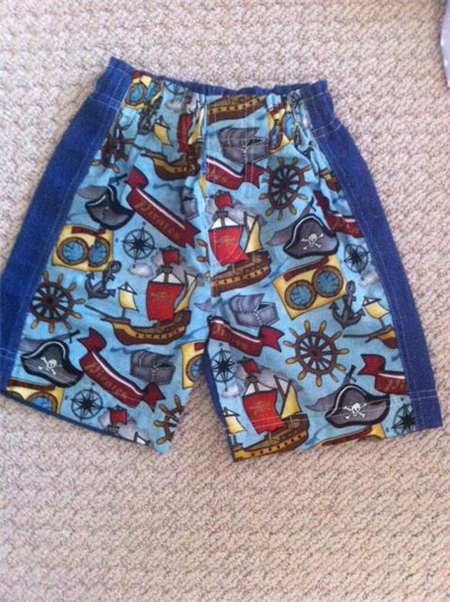 Boys Pirate Shorts