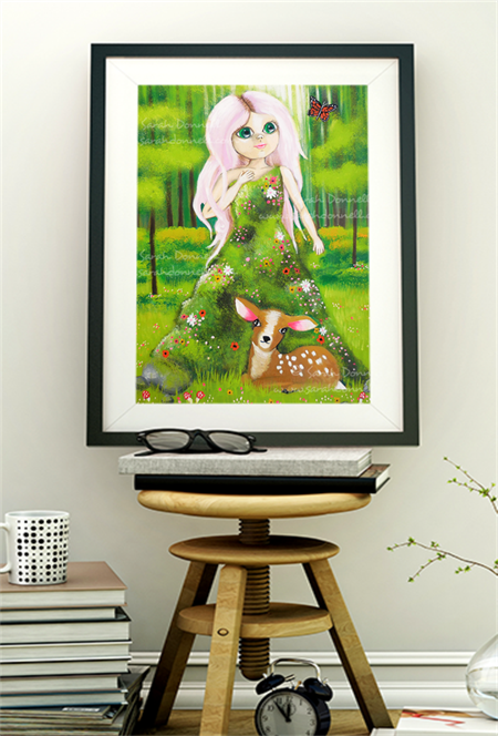 A5 Print - The Forest Spirit