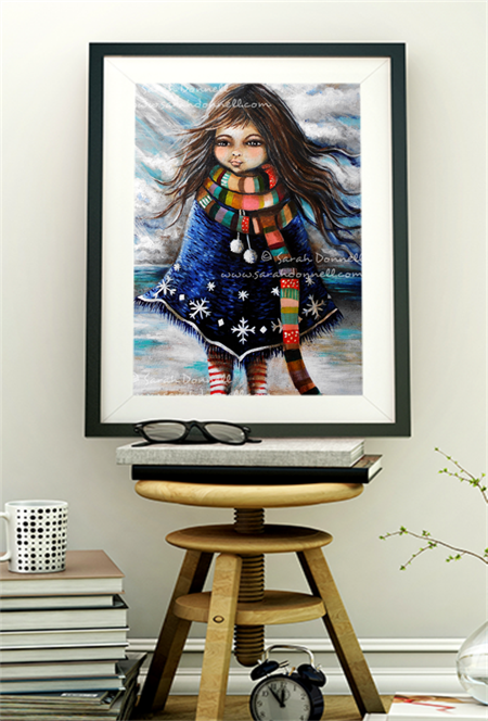 A5 Print - Winter Girl