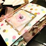 Floral Glitter Junk Journal