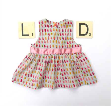 Brush belle dress - organic cotton