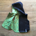 SOLD OUT - Denim Reversible Vest - your choice of Cotton Poplin lining & size