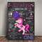 LITTLE PONY Themed 1st Birthday Milestone Keepsake Print DIGITAL PDF