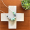Silicone Nursing Necklace - Mint and Marble with Crochet Beads