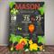 DINOSAUR Themed 1st Birthday Milestone Keepsake Print DIGITAL PDF