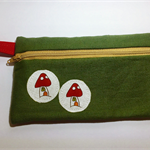 Pencil Case - Linen Toadstool