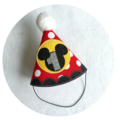Mickey Mouse 1st birthday Onesie and Party Hat Boys Birthday Clothing
