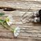 Black Onyx Gemstone & Tibetan Bead Earrings