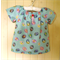 Easter Tunic Length Top. One only, size 2. Rabbits, Easter Eggs, Bunnies.