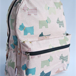 Schnauzer in Pink - Back Pack