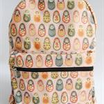 Babushka in Pink - Back Pack