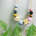 "The Red Essy ""Mustard Spot"" necklace"