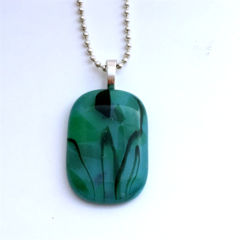 Flora Fused Glass Pendant