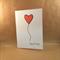 Heart Balloon Card - Happy Birthday - Cardstock - Handmade