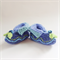Embellished  knitted booties for baby from 6-9 months. One of a kind.