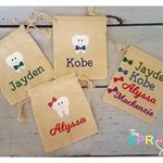 Personalised Tooth Fairy Pouch | Tooth Fairy Bag