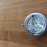 Tree of life locket - memories enclosed in a stainless steel locket