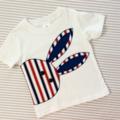 Boys size 2 Cheeky Bunny T-shirt , boys easter shirt