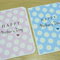 Mother's Day Card - pink or blue daisies
