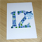 Personalised Birthday card - boys or girls - pink or blue - any age!
