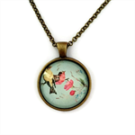 """""""Birds & Flowers 008"""" 
