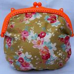 ORANGE FUSION great everyday little purse.