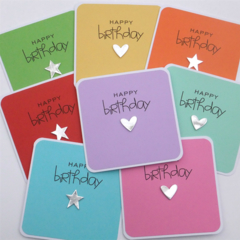 Set of 8 Bright Cards