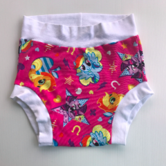 Rainbow pony nappy pants diaper cover baby toddler
