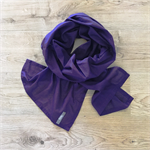 Purple Cotton Voile Scarf - READY TO POST