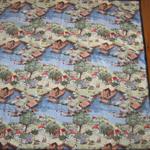 Retro Print Children's Quilt or Throw