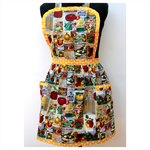 Bountiful Harvest Thanksgiving Ladies Apron