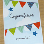 Happy New Home - house warming congratulations card