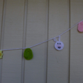 Crochet Easter bunting, Spring garland | nursery | gift | party decoration