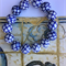 Fish Scales - Hand Painted Porcelain Beaded Bracelet